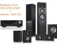 АКЦИЯ!!! JBL STUDIO 270 Set + Harman Kardon AVR 151